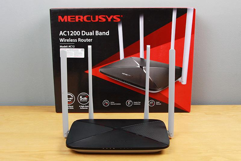 Mercusys AC12 / AC1200 Dual Band Wireless Router